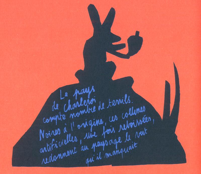 L'Eden Le Pays de Charleroi Loïc Gaume illustrateur auteur graphiste belgique bruxelles